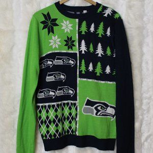 NFL Seattle Seahawks Ugly Christmas Sweater